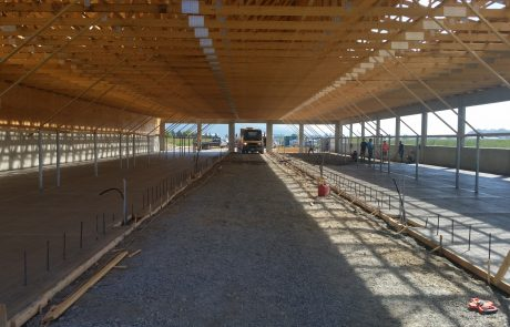 Boviteq West Barn Build 31