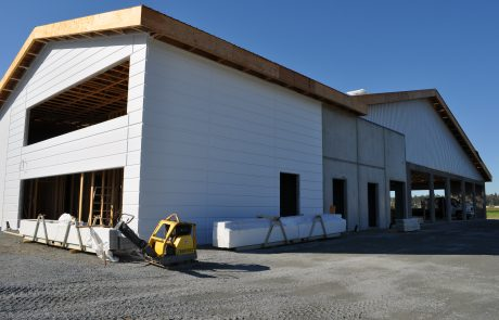 Boviteq West Barn Build 34